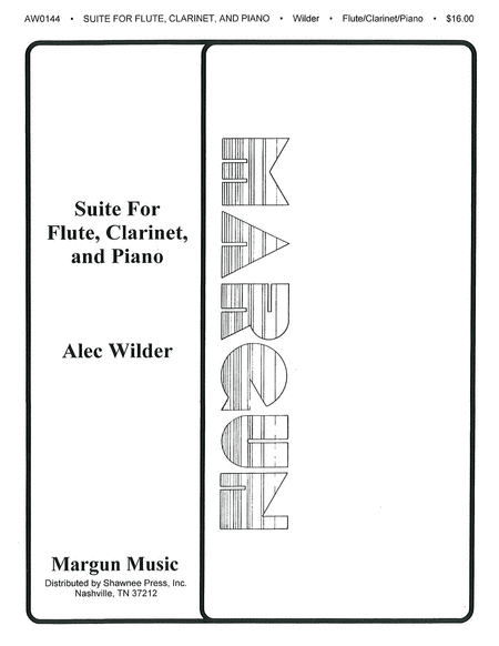 Suite for Flute, Clarinet and Piano