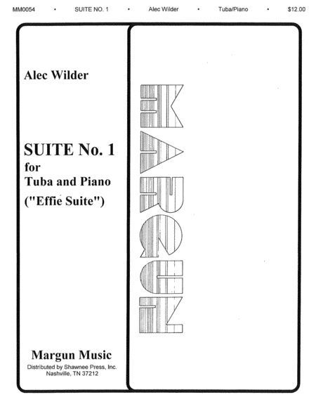 Suite No 1 For Tuba & Piano -