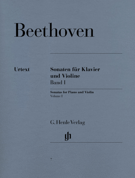 Sonatas for Piano and Violin - Volume I