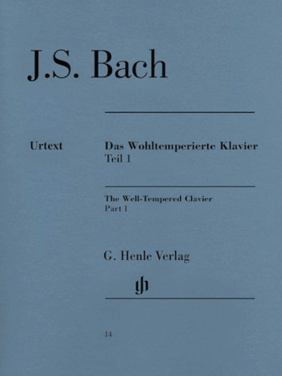 The Well-Tempered Clavier - Book I, BWV 846-869