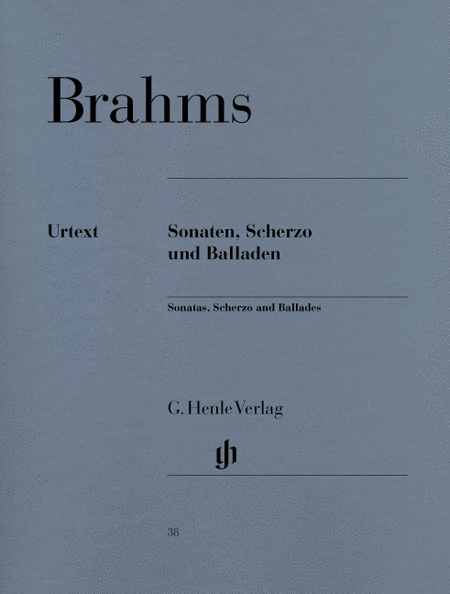 Sonatas, Scherzo and Ballades
