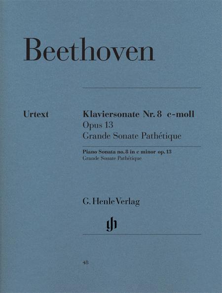 Piano sonata C minor - Op. 13 [Grande Sonate Pathetique]