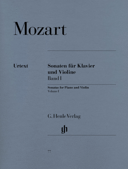 Sonatas for Piano and Violin, volume I
