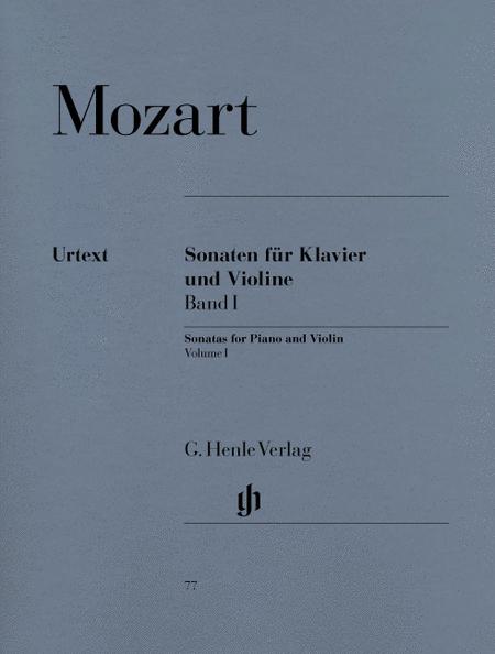 Sonatas for Piano and Violin, volume I