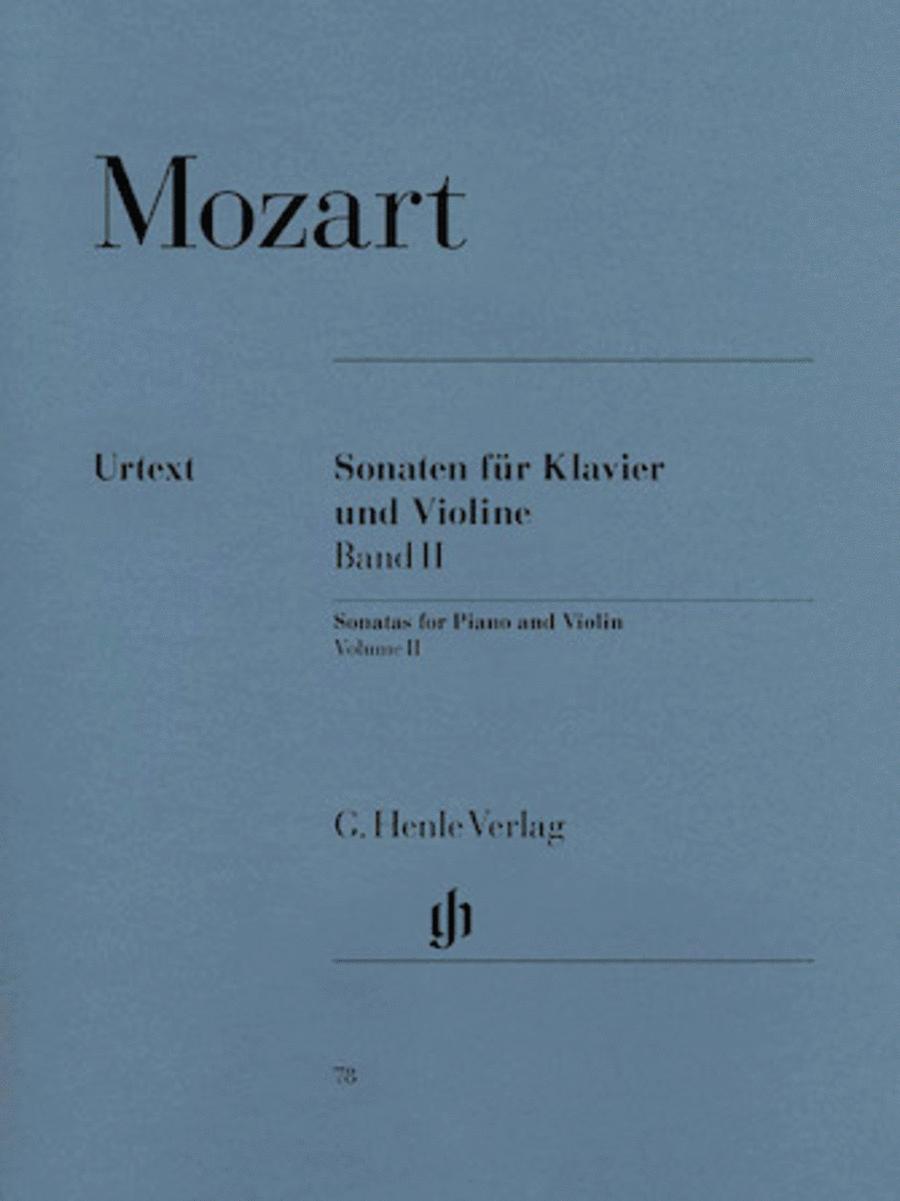 Sonatas for Piano and Violin, Volume II