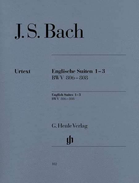 English Suites 1-3 BWV 806-808