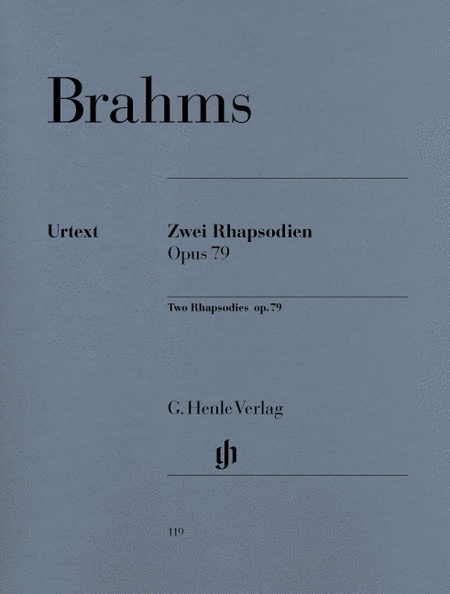 2 Rhapsodies Op. 79