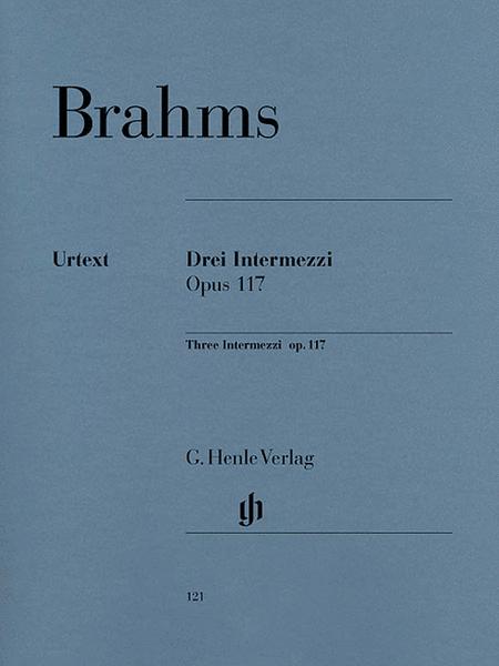 3 Intermezzi - Op. 117