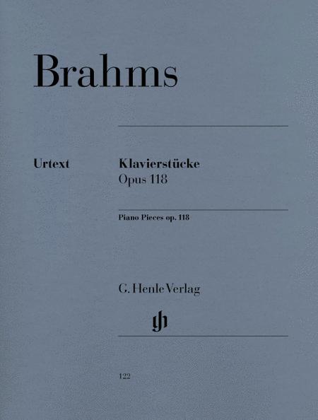 Piano pieces Op. 118,1-6