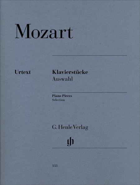 Piano Pieces, Selection