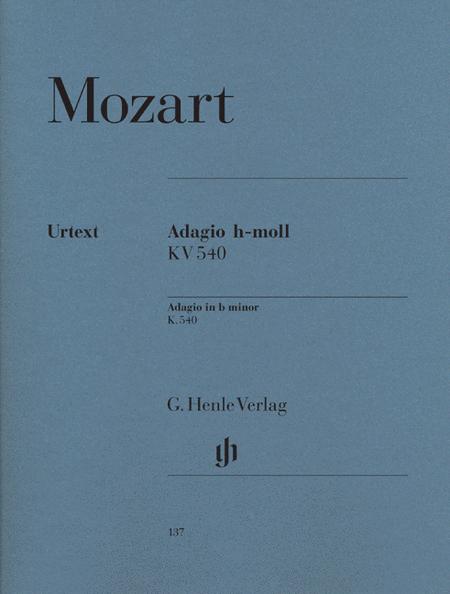 Adagio in B minor K540