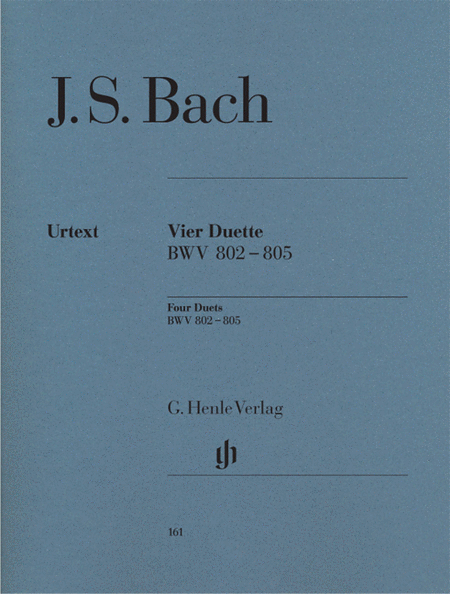 J.S. Bach: Four duets BWV 802-805