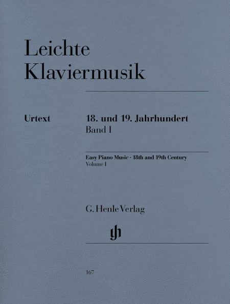 Easy Piano Music of the 18th and 19th Century - Volume I
