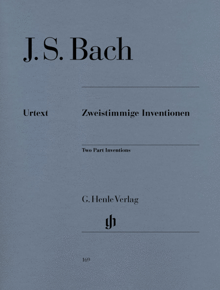 2-part Inventions, BWV 772-786
