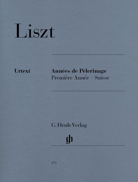 Annees de Pelerinage, Premiere Annee: Suisse