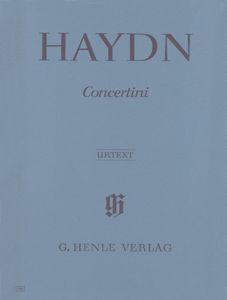 Concertini for Piano (Harpsichord) with Two Violins and Violoncello