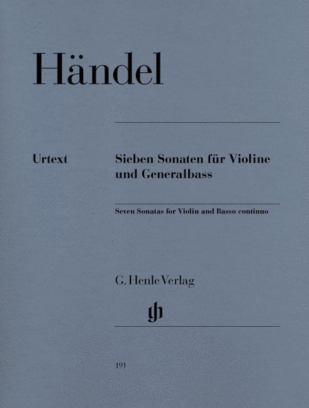 7 Sonatas for Violin and Basso Continuo