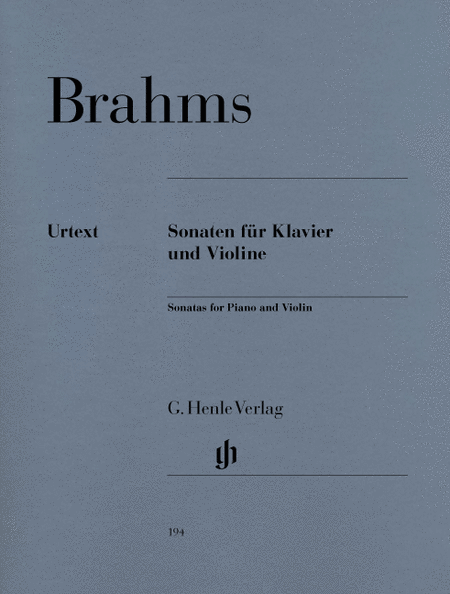 Sonatas for Piano and Violin