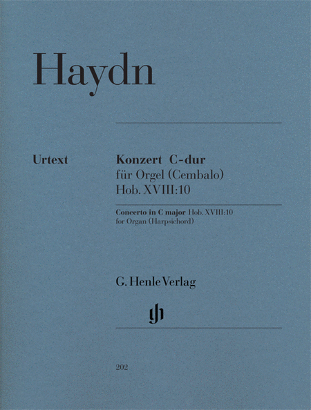 Concerto for Organ (Harpsichord) with String Instruments C Major Hob.XVIII:10