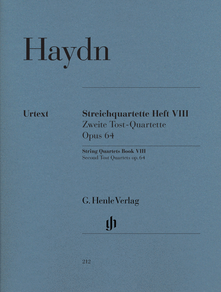 Haydn - String Quartets Volume 8, op. 64 (Second Tost Quartets)