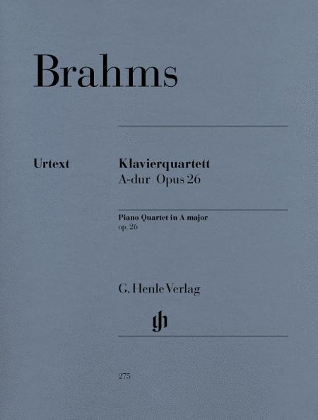 Piano Quartet A Major Op. 26