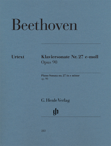 Beethoven: Sonata No. 27 in E Minor, Opus 90