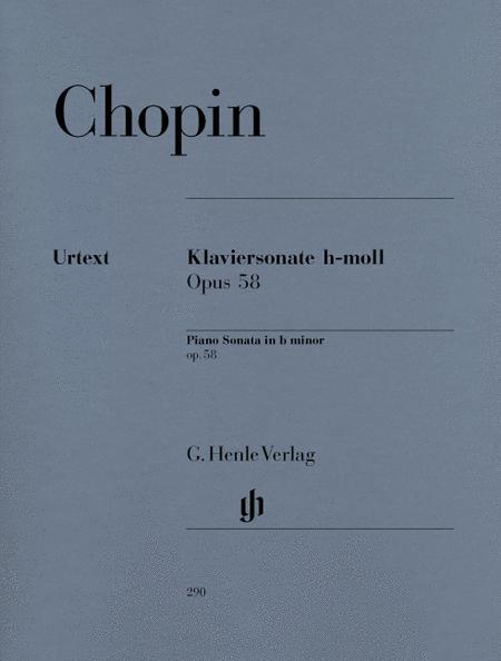 Piano Sonata B minor op. 58