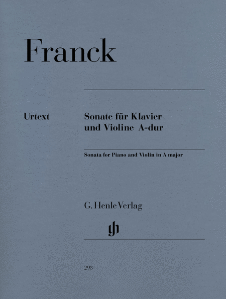 Sonata for Piano and Violin A major