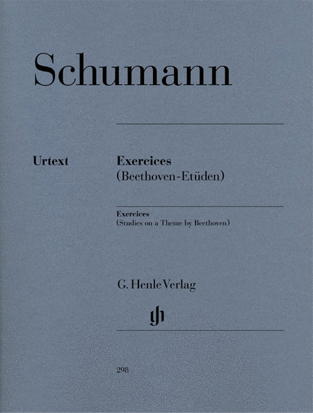 Exercises - Studies in Form of Free Variations on a Theme by Beethoven Anh. F 25