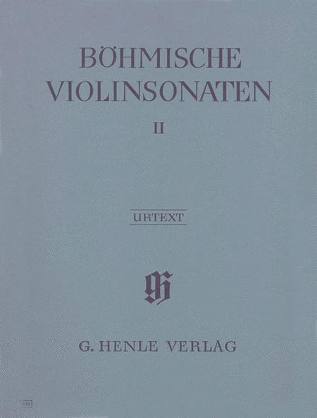 Bohemian Violin Sonatas - Volume II