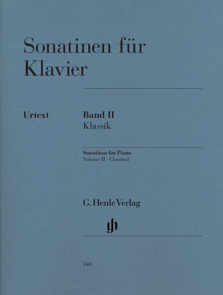 Sonatinas for Piano - Volume II: Classic