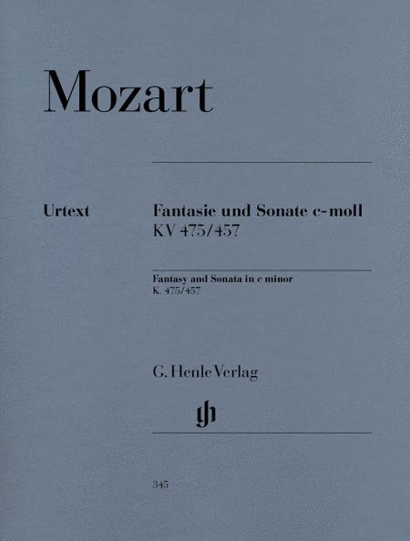 Fantasy and Sonata C minor K475/457