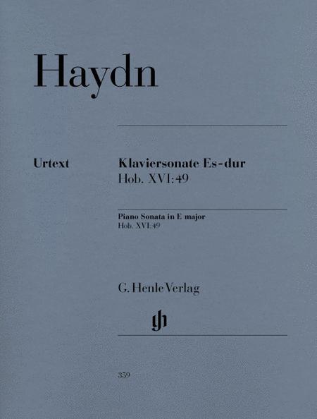 Piano Sonata in E Flat Major Hob.XVI:49