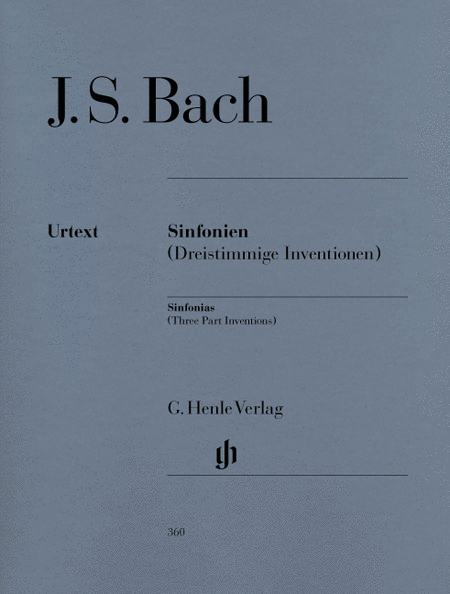 Sinfonias BWV 787-801 (Three Part Inventions)