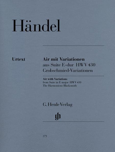Air with Variations (The Harmonious Blacksmith)