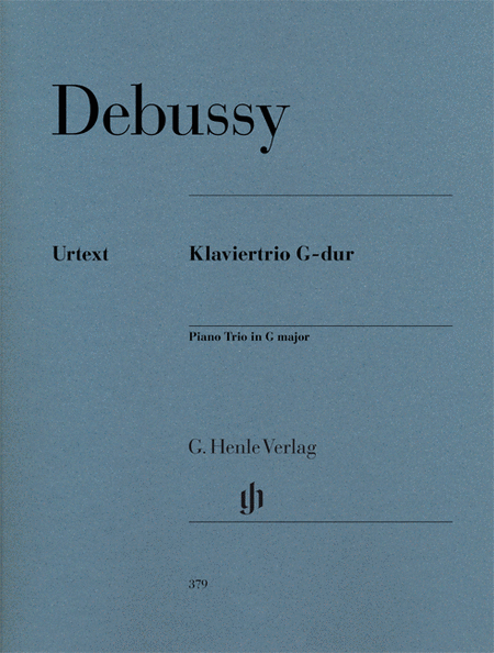 Piano trio G major (first edition)