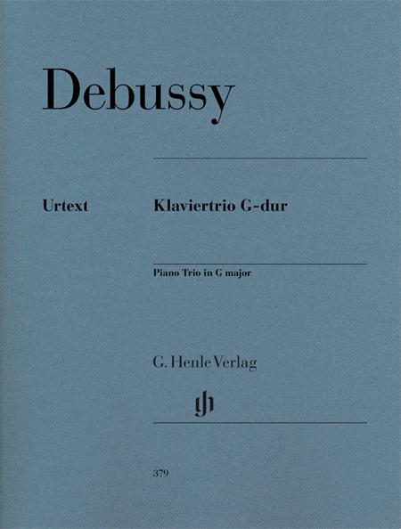Piano trio G major (first edition)