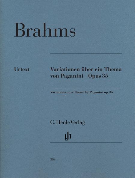 Paganini-Variations Op. 35