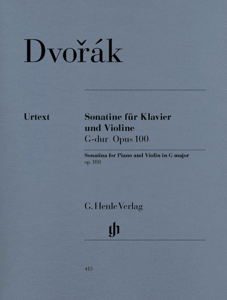Sonatina for Piano and Violin G Major Op. 100
