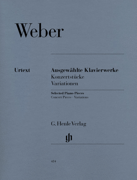 Selected Piano Works (Concert Pieces, Variations)