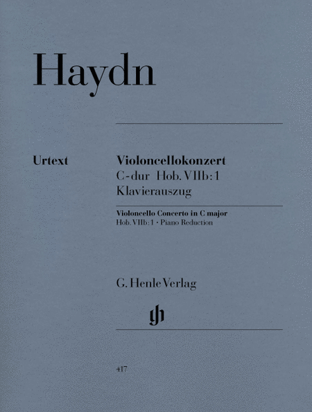 Concerto for Violoncello and Orchestra C major Hob. VIIb: 1