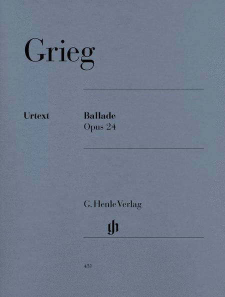 Ballade Op. 24