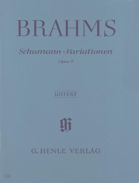 Schumann-Variations Op. 9