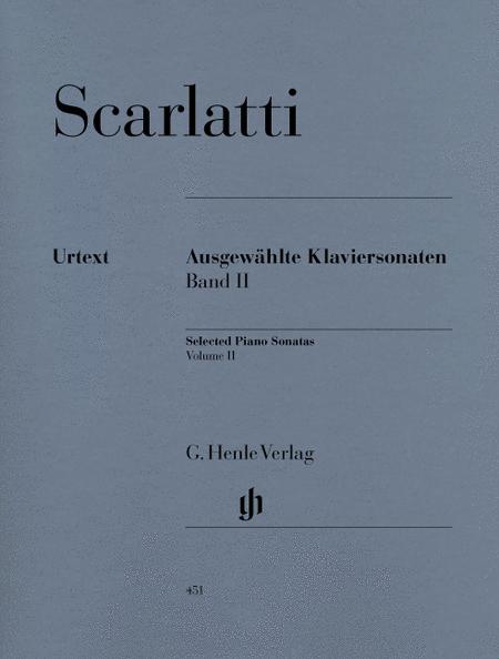 Selected Piano Sonatas, Volume II