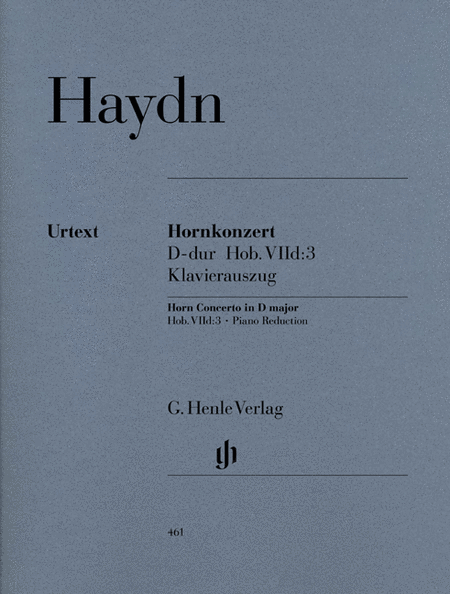 Concerto for Horn and Orchestra D Major Hob.VIId:3