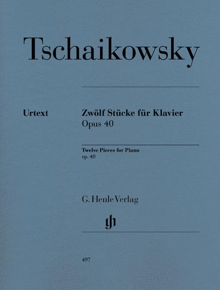 12 Piano Pieces Op. 40