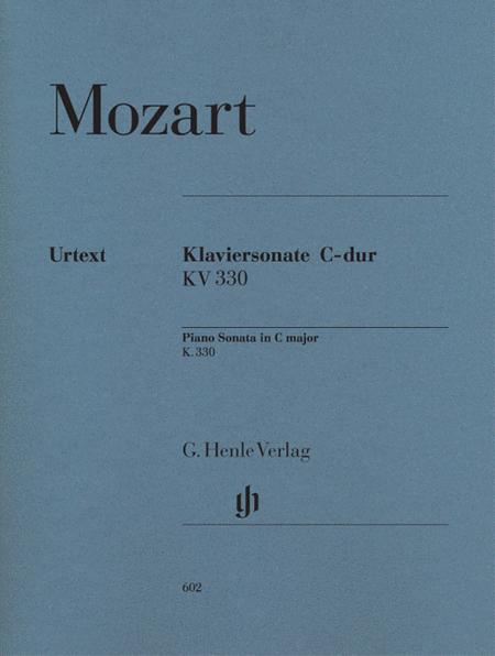 Piano Sonata in C Major K330 (300h)