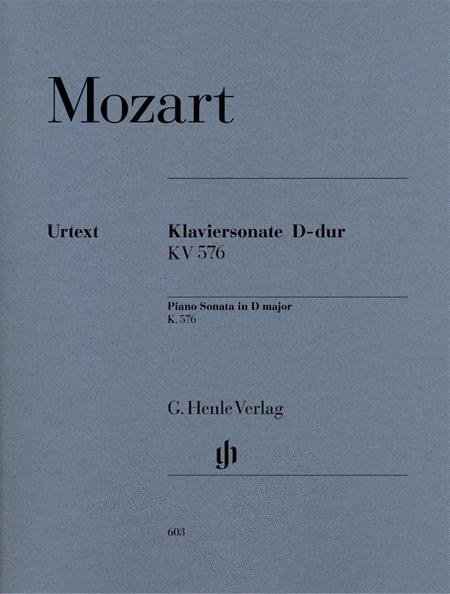 Piano Sonata in D Major K576