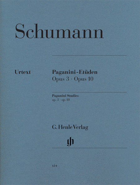 Paganini Studies, Op. 3 and Op. 10