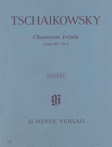 Chanson Triste Op. 40, No. 2